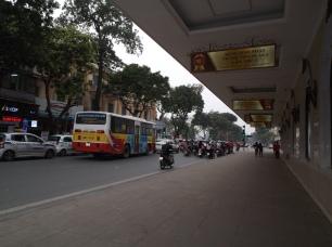 Circulation dans les rues de Hanoï