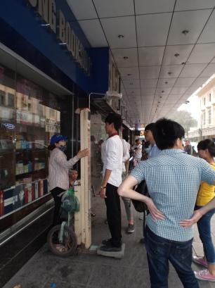 Calcul de l'IMC dans les rues de Hanoï