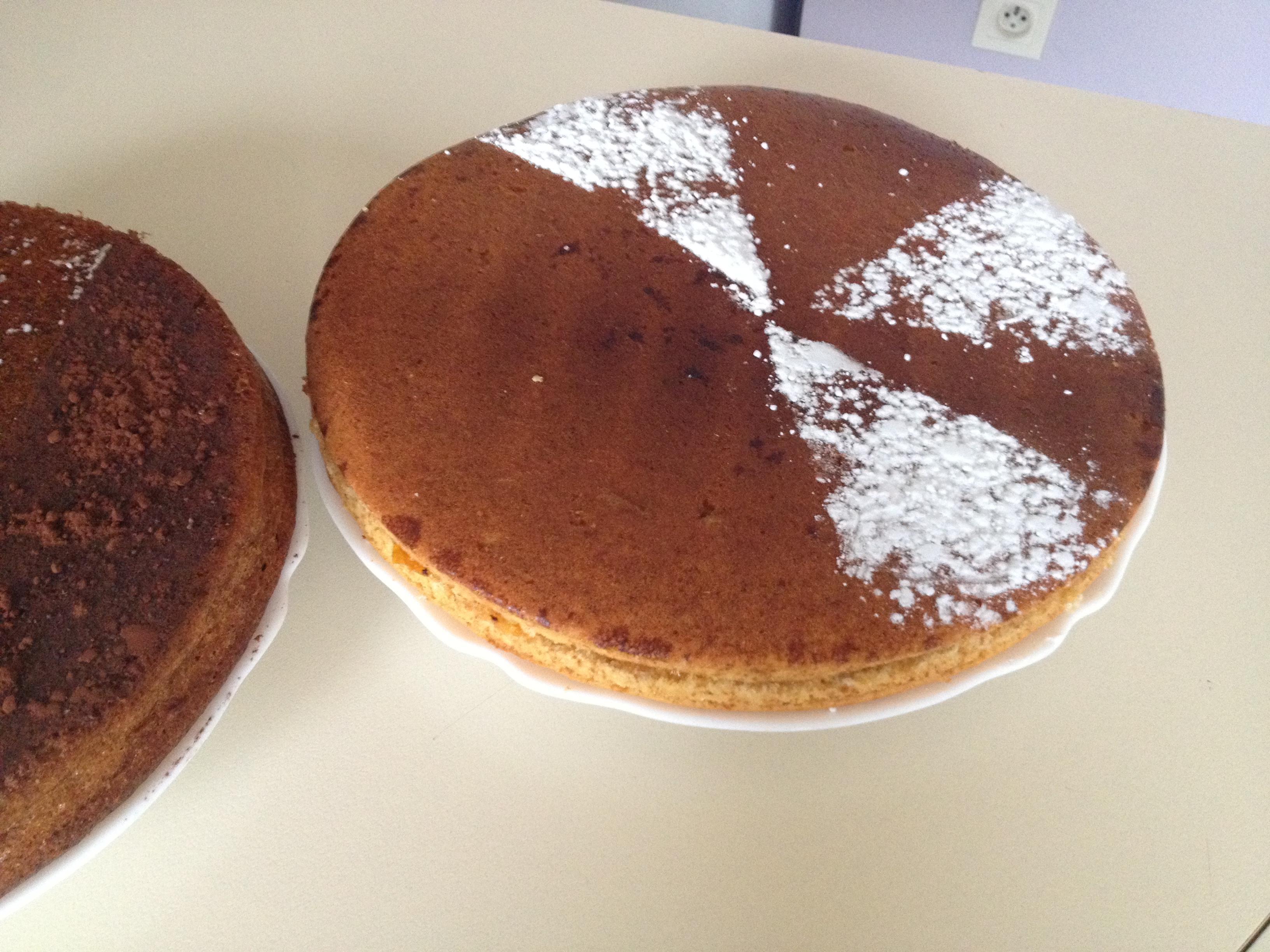 Gâteau confiture d'abricots