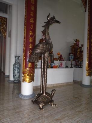 Temple Bouddhiste sur la route de Along à Ninh Binh