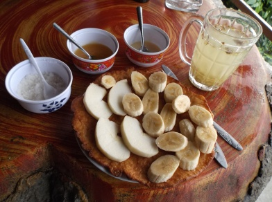 Pancake Vietnamien aux fruits frais