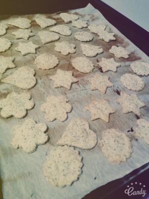 Crackers salés à l'indienne