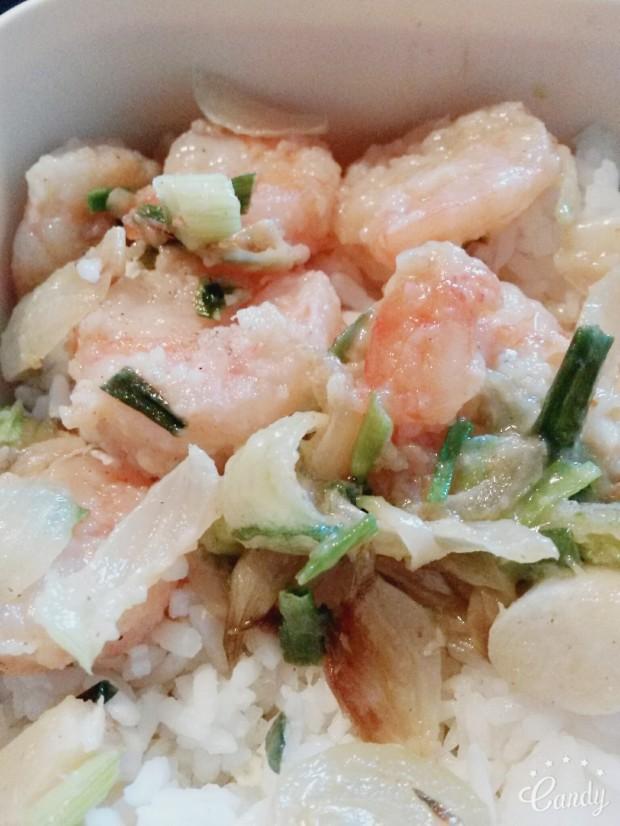 Crevettes sel et poivre