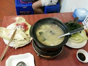 Lao, fondue vietnamienne