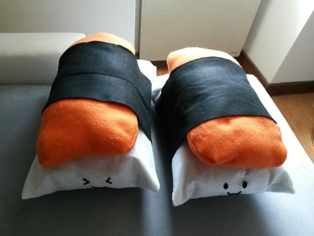 DIY - Coussins Sushi