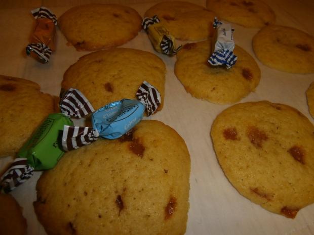 Cookies aux caramels au Calvados