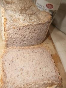 Pain complet à la farine de châtaigne