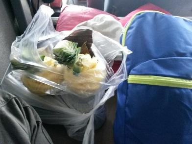 Des ananas frais et sucrés pour le petit déjeuner