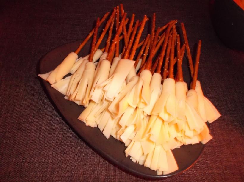 Balais fromage-bretzel
