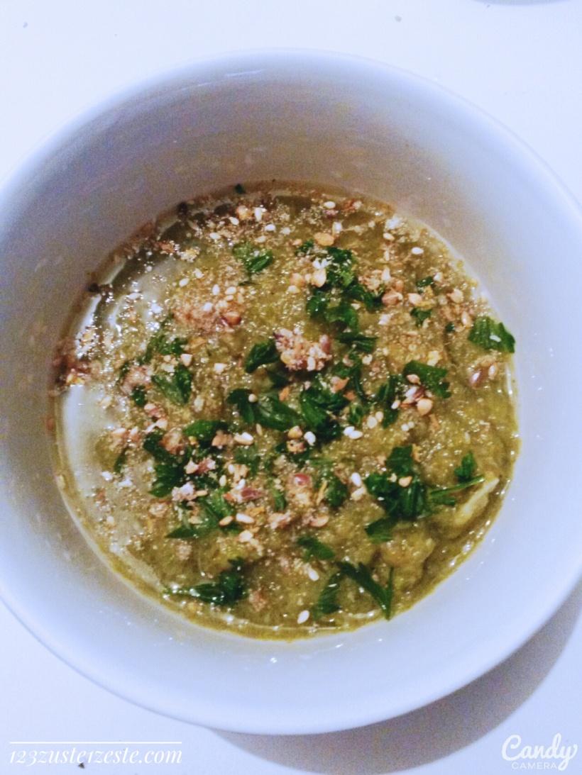 Soupe de champignons pleurotes aux légumes
