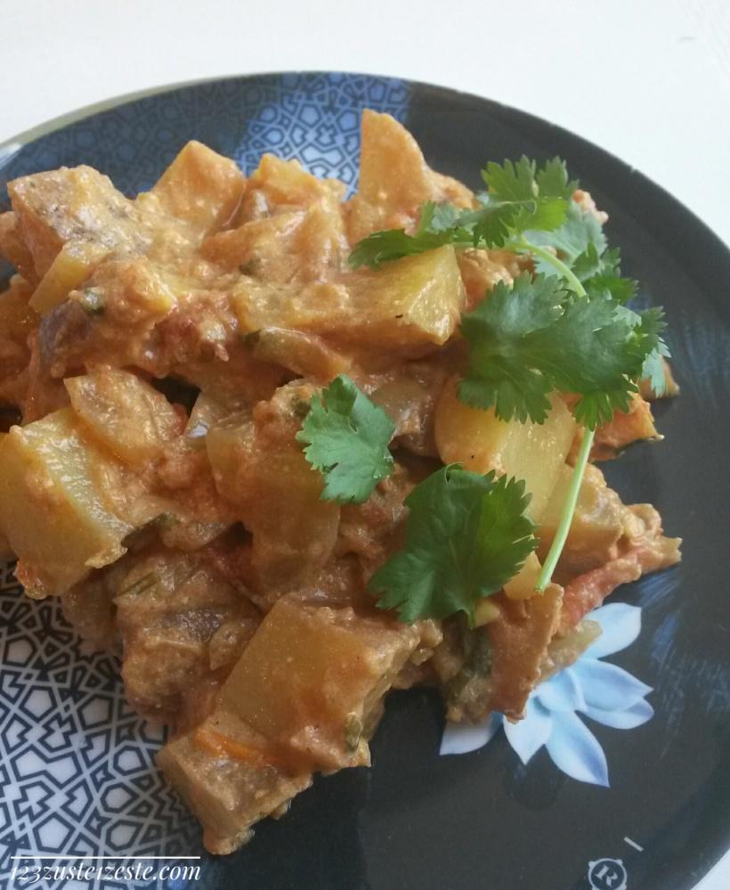 Aloo - Curry Indien de pommes de terre