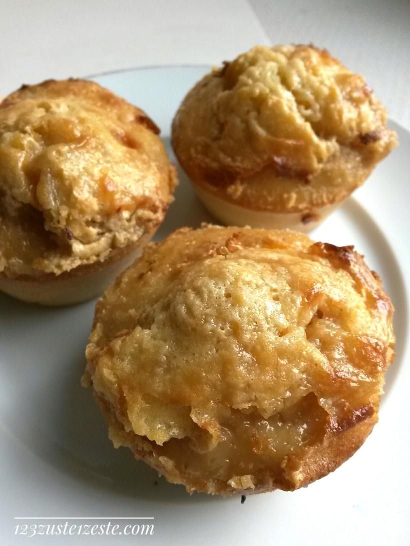 Muffin marbré au crémeux de café