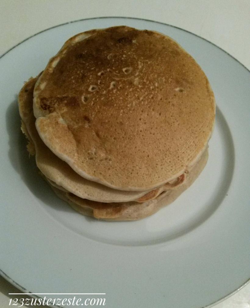 Pancake végétal à la banane