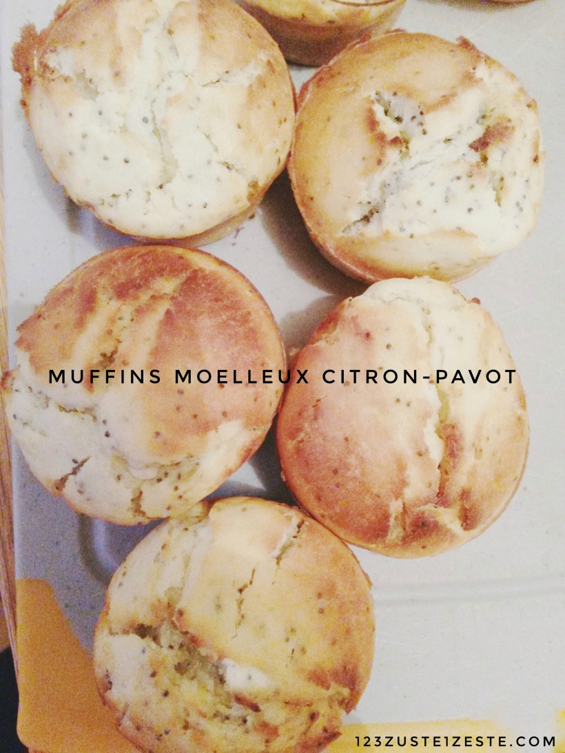 Muffins moelleux Citron-pavot