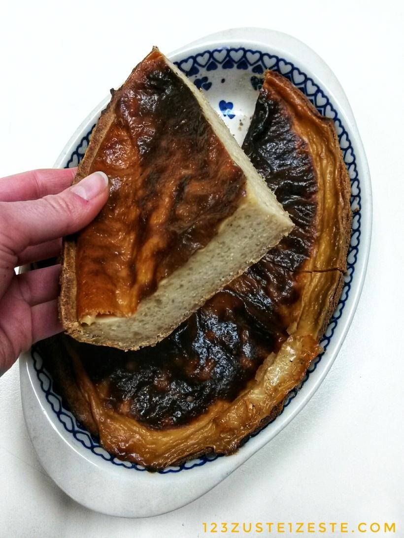Flan sans œufs de Benoît Couvrand