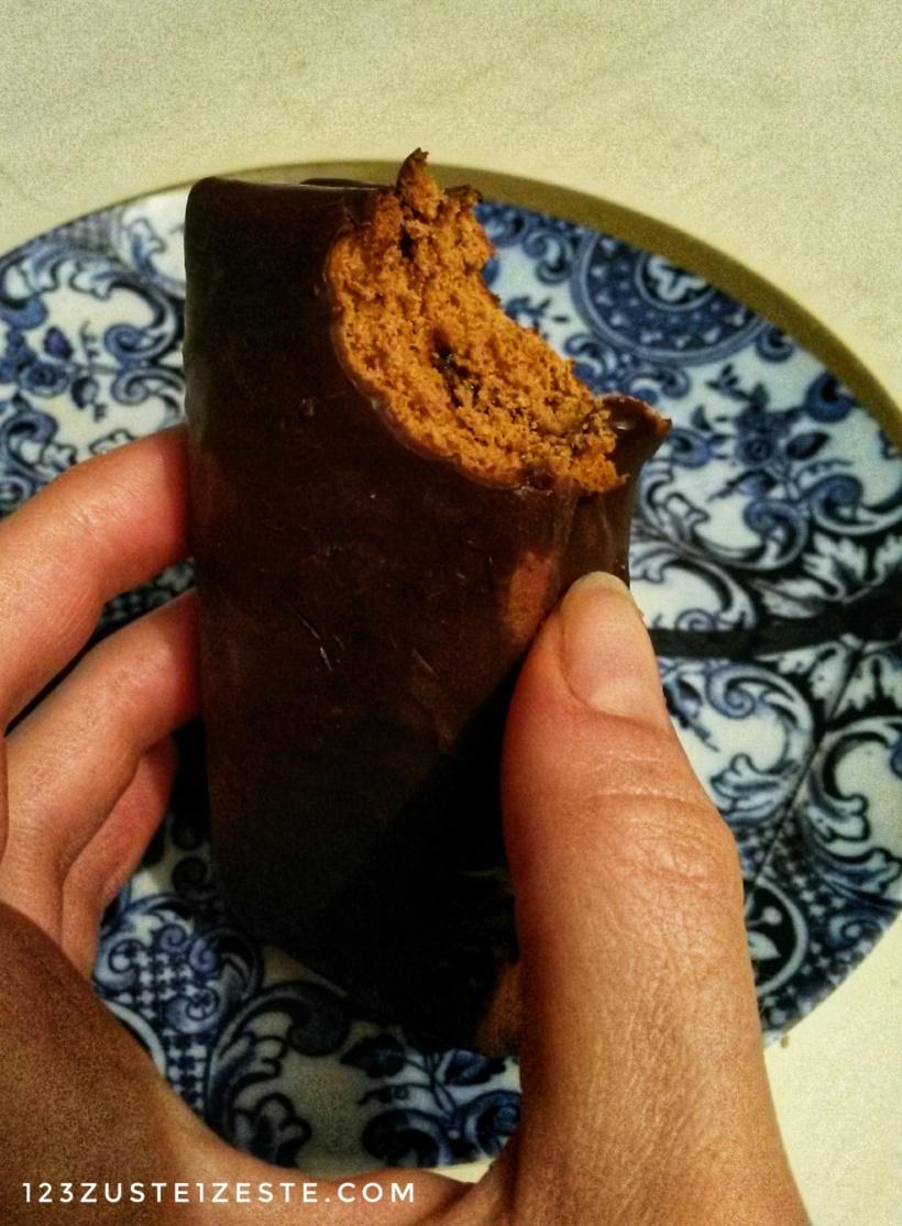 Pain d'épice fourré à la marmelade de prunes