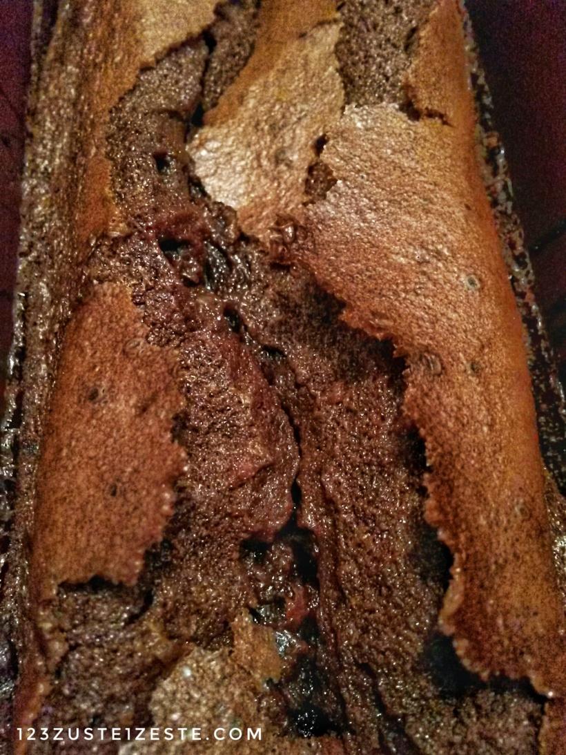 Gâteau au chocolat et caramel, L'assassin