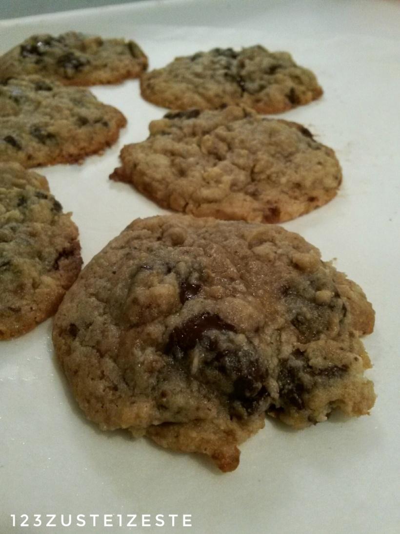 Cookies au pépites de chocolat noir de Conticini