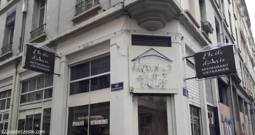 Étoile d'Asie, Restaurant Vietnamien à Lyon