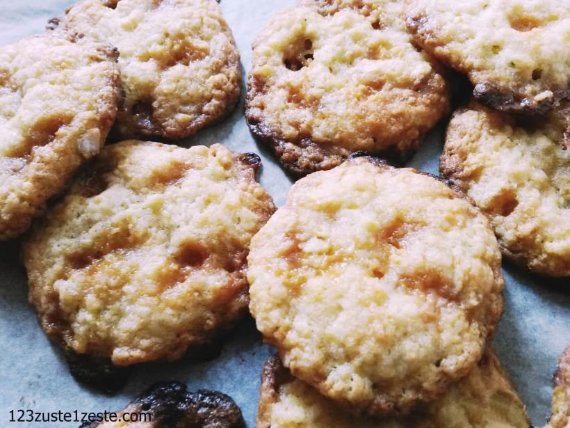Cookies à l'américaine aux pépites de caramel au Calvados